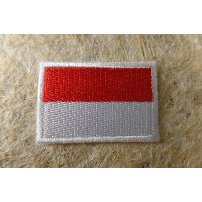 Ecusson drapeau Alsace