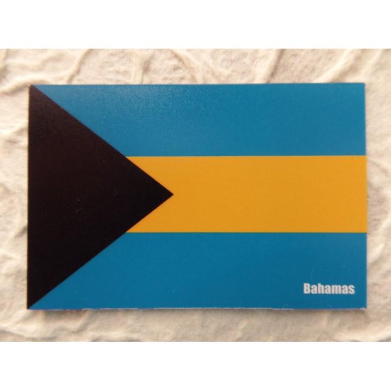 Aimant drapeau Bahamas