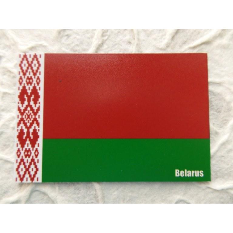 Aimant drapeau Biélorussie