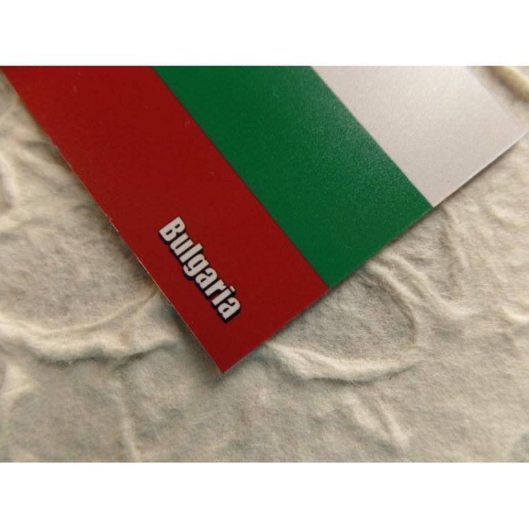Aimant drapeau Bulgarie