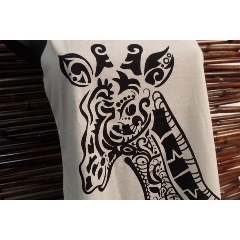 Débardeur tête de girafe