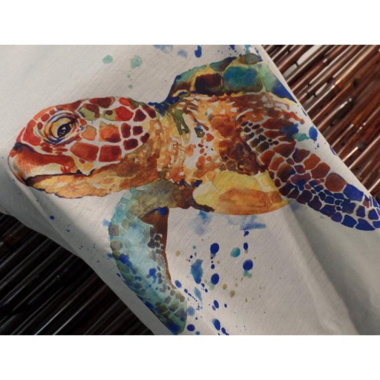 Débardeur tortue marine colorée