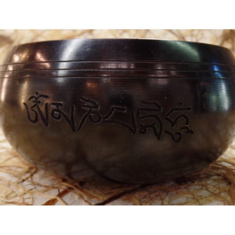 Bol tibétain Aum mani padme hum
