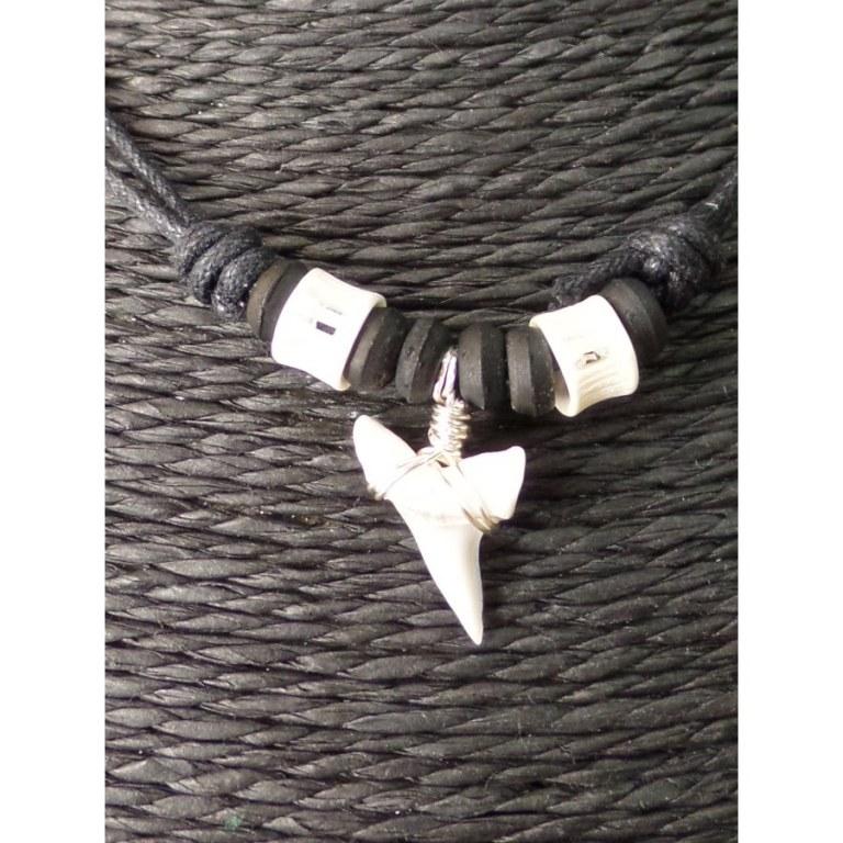 Collier Papara dent de requin mako 9