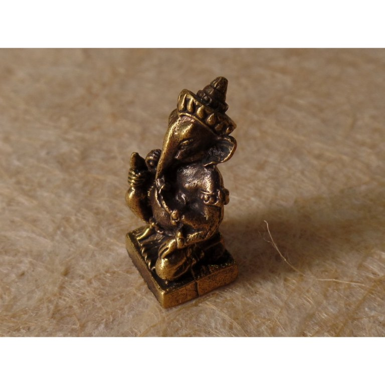 Miniature du dieu Ganesh agenouillé