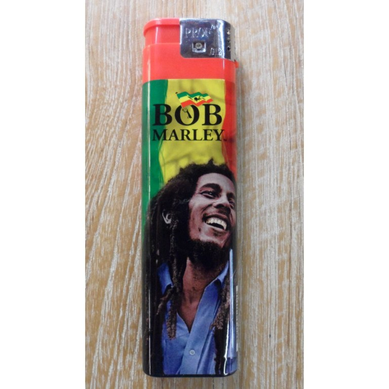 Briquet rouge grand format Bob Marley