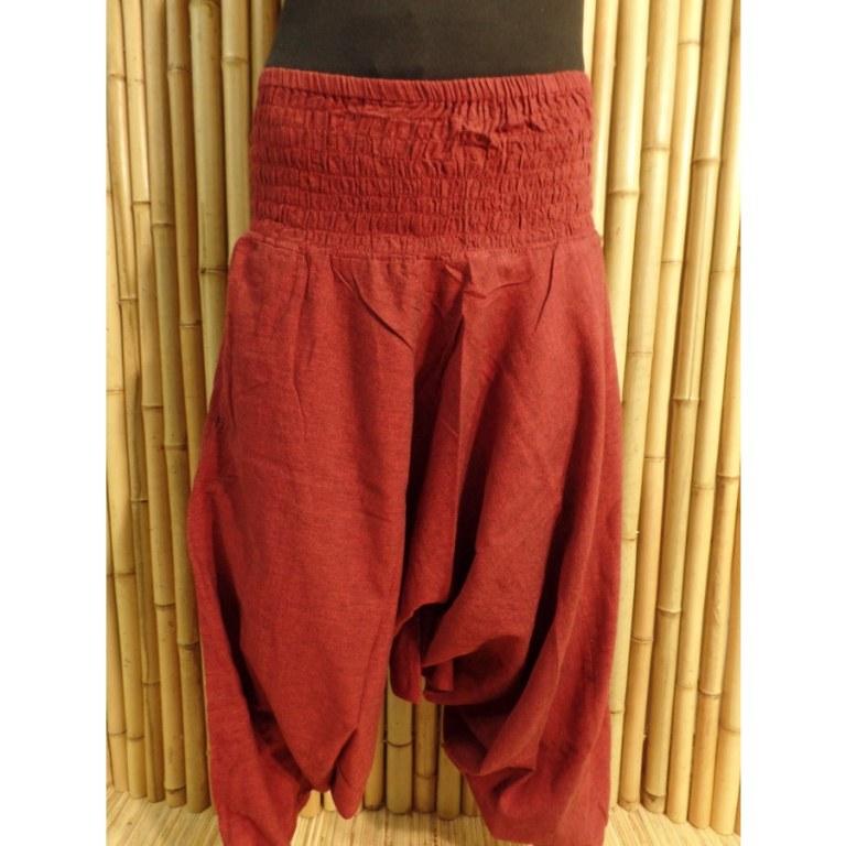 Pantalon Bagmati bordeaux