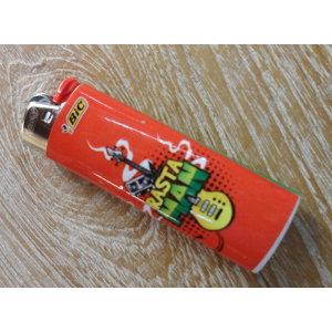 Briquet rouge rasta man
