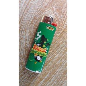 Briquet vert ragga dancehall