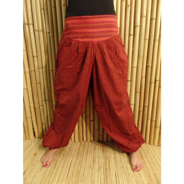 Pantalon Karnali bordeaux