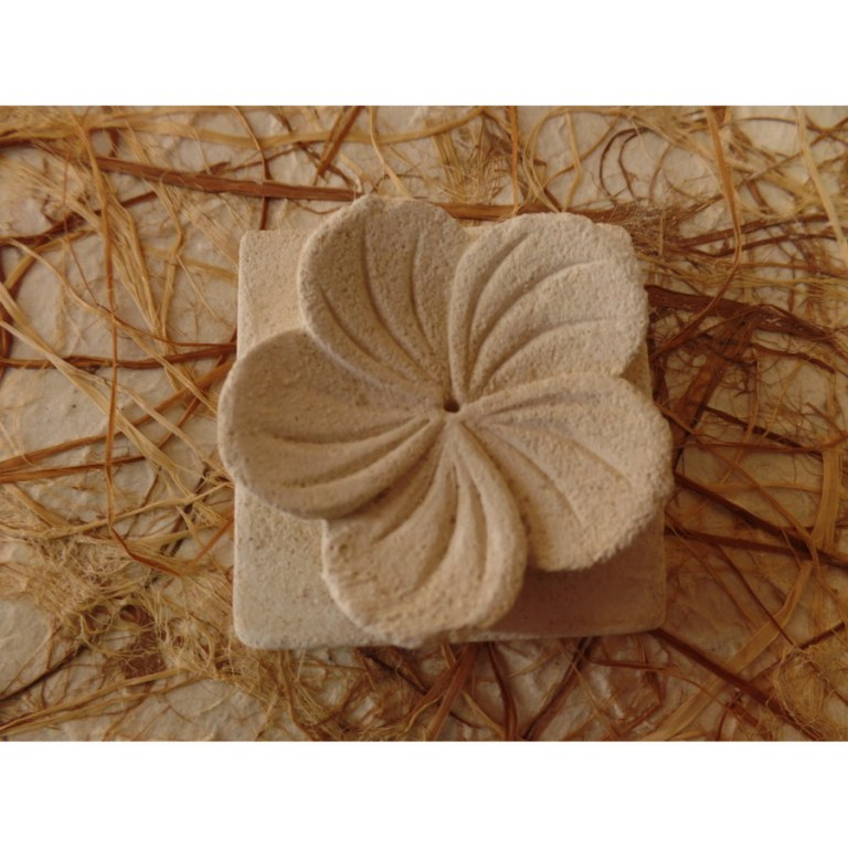 Porte encens carré fleur