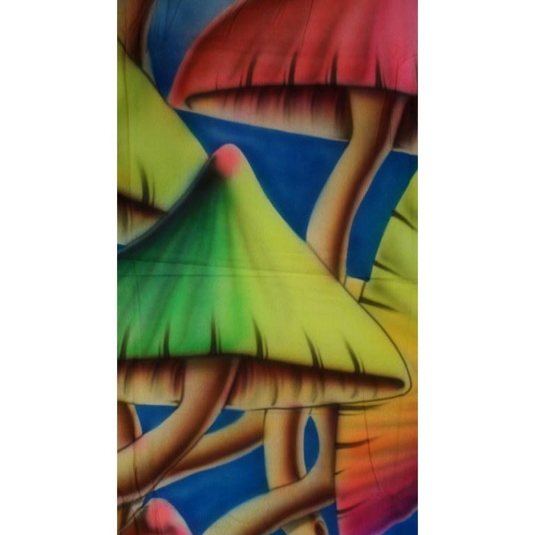Tenture fluo champi color