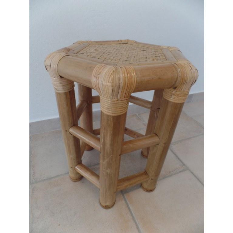 tabouret bambou. Black Bedroom Furniture Sets. Home Design Ideas