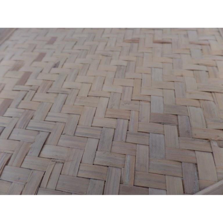 Tabouret bambou hexa
