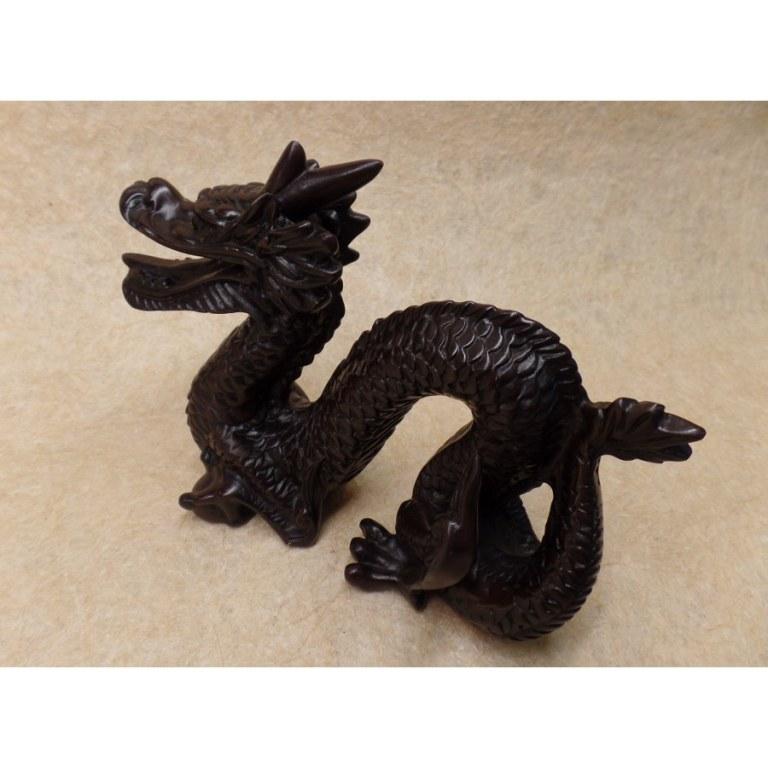 Dragon de la chance en résine