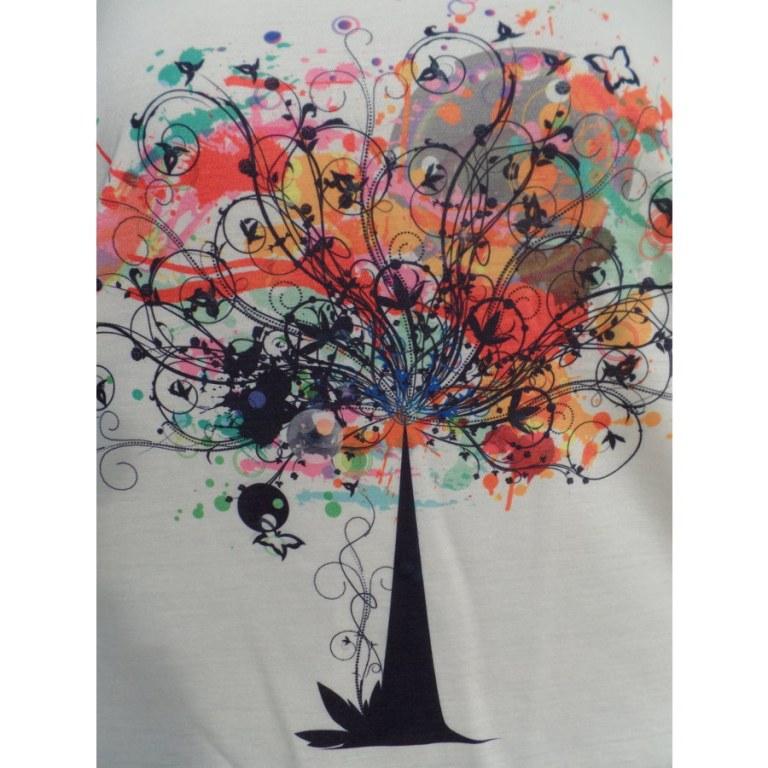 Débardeur arbre stylisé