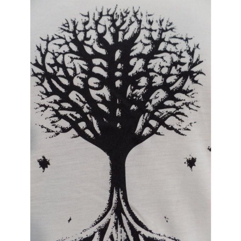 Débardeur l'arbre noir