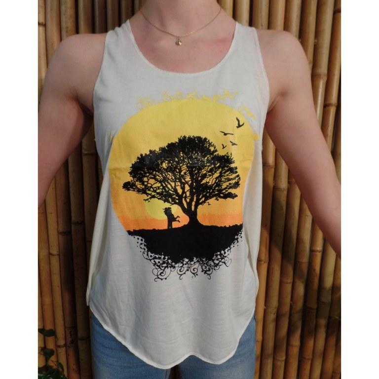 Débardeur l'arbre soleil