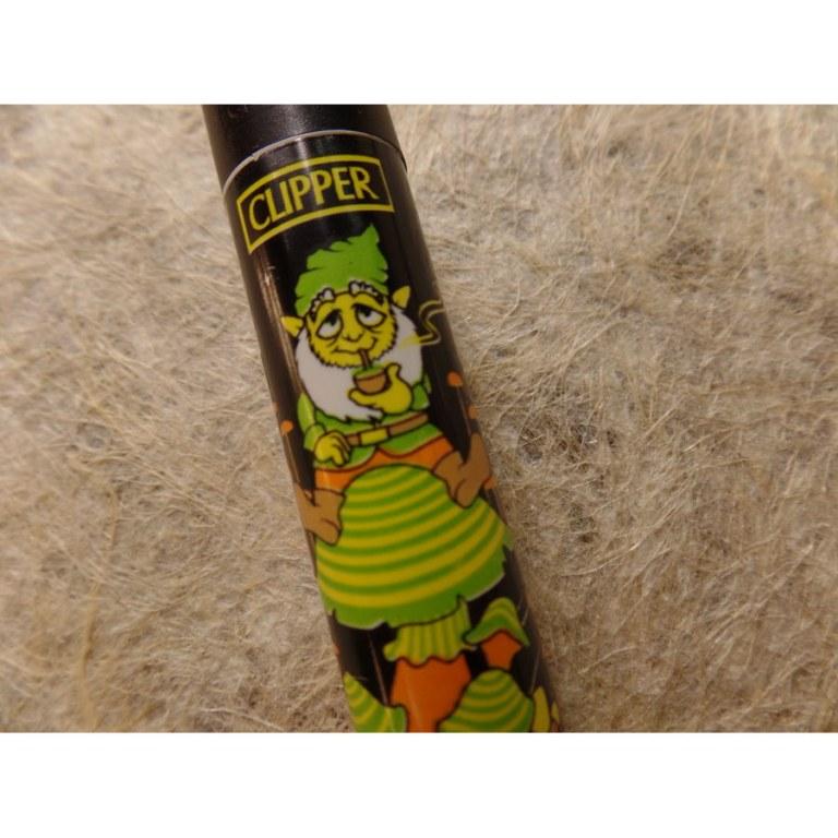 Briquet lutin vert/jaune