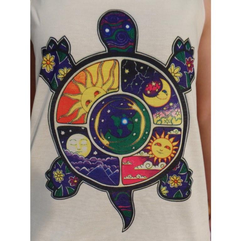 Débardeur tortue soleil