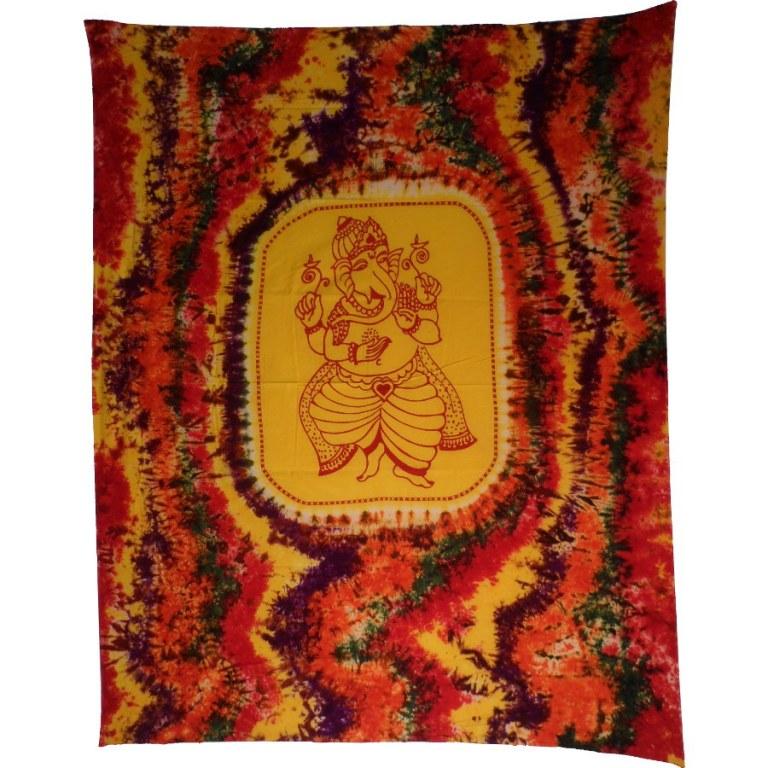 Tenture maxi multicolore Ganesh