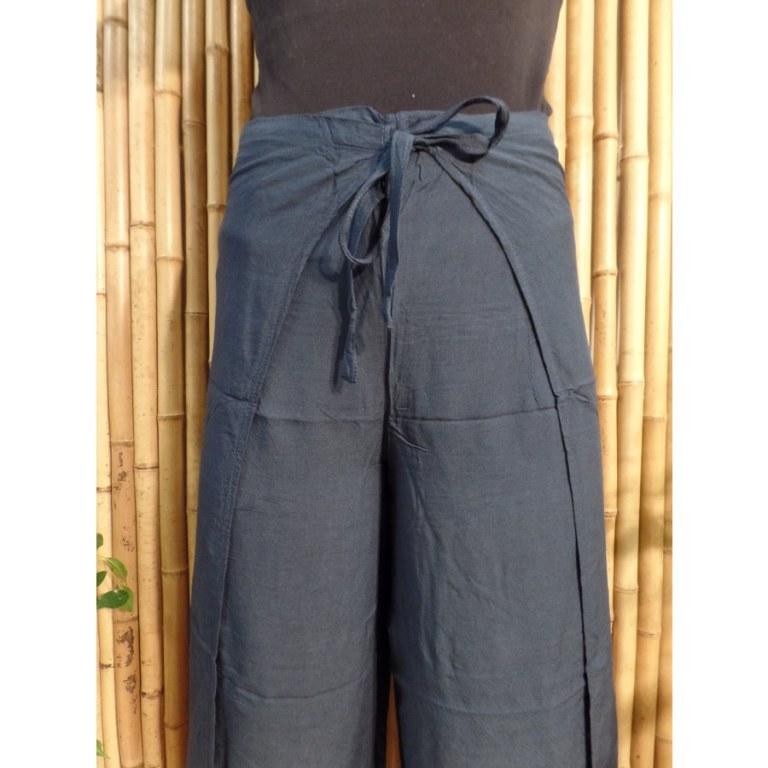 Pantalon paréo bleu minuit