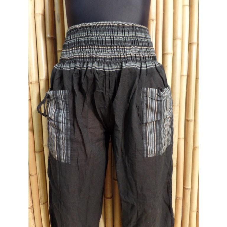 Pantalon Loumbini noir