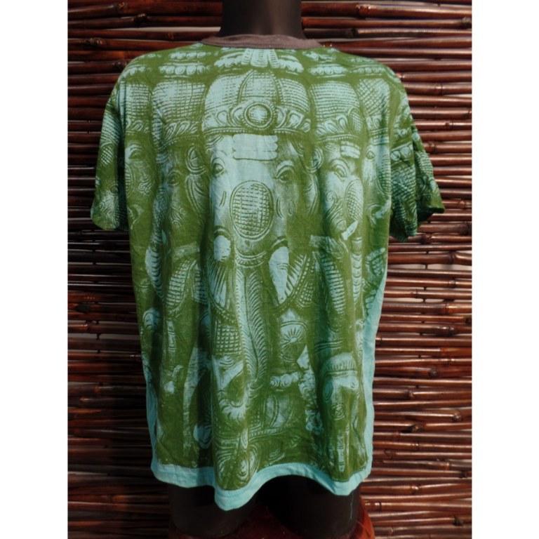 Tee shirt Ganesh multi faces
