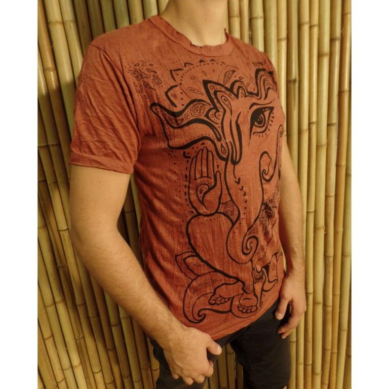 Tee shirt rouille little Ganesha