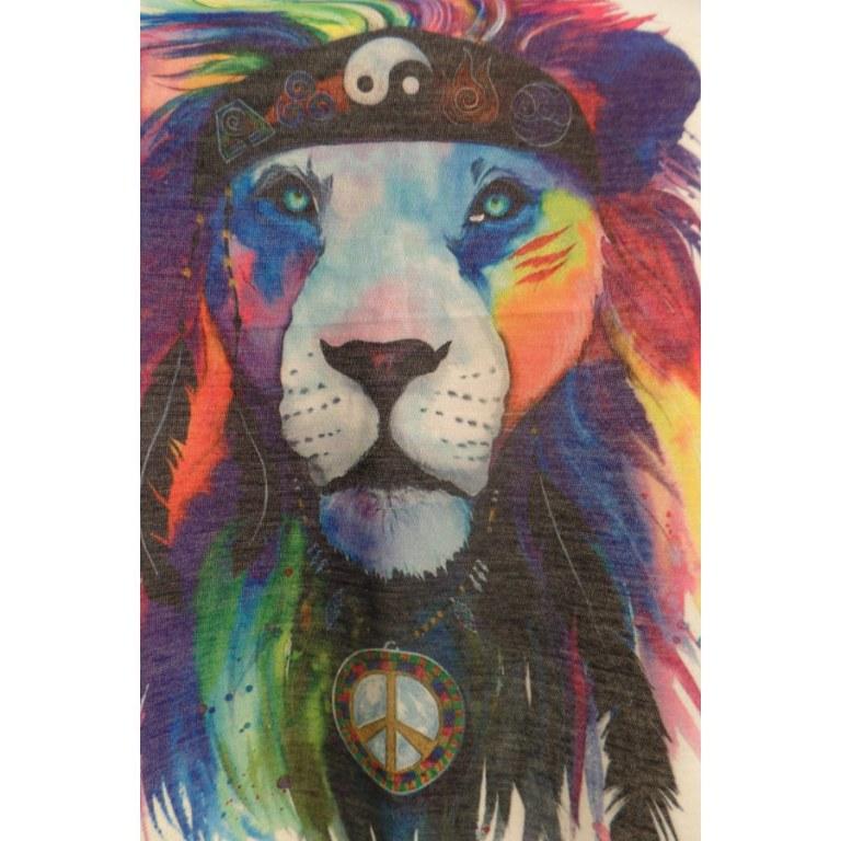 Débardeur lion yin yang