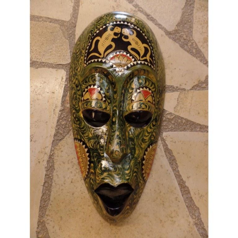 Masque angka gecko