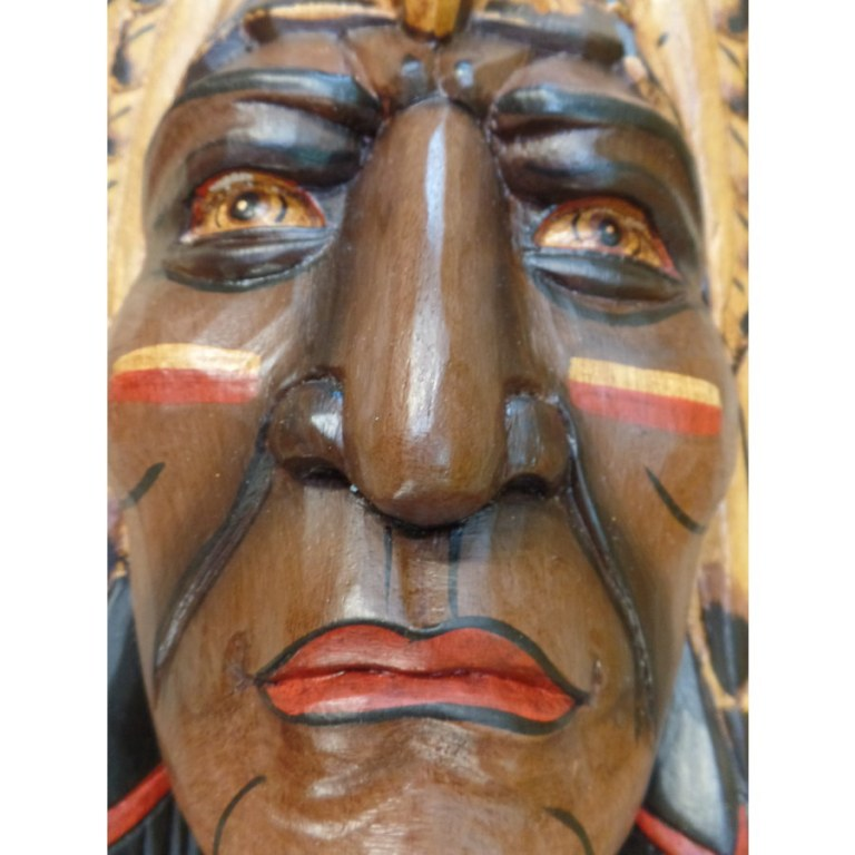 Masque chef Indien grand aigle