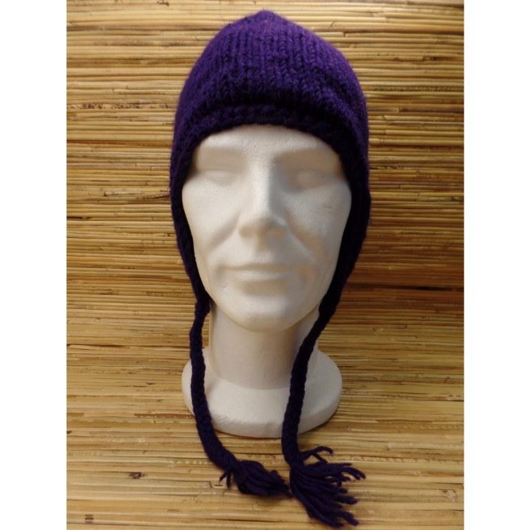 Chullo uni violet
