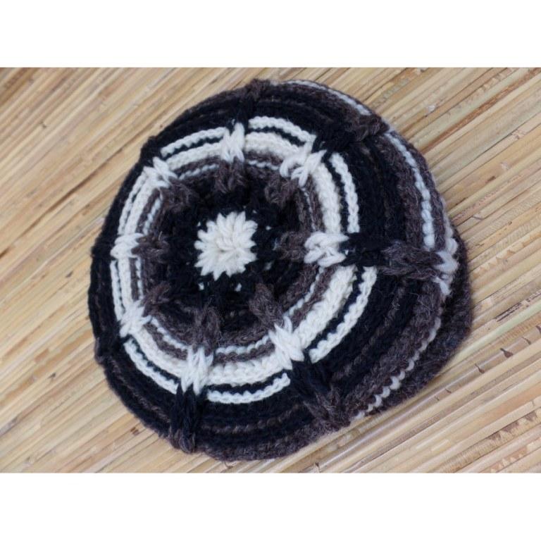 Casquette en laine gavroche 3 couleurs