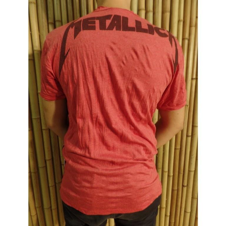 Tee shirt rouge Métallica