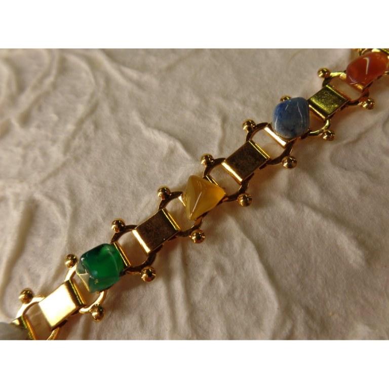 Bracelet 10 pierres naturelles