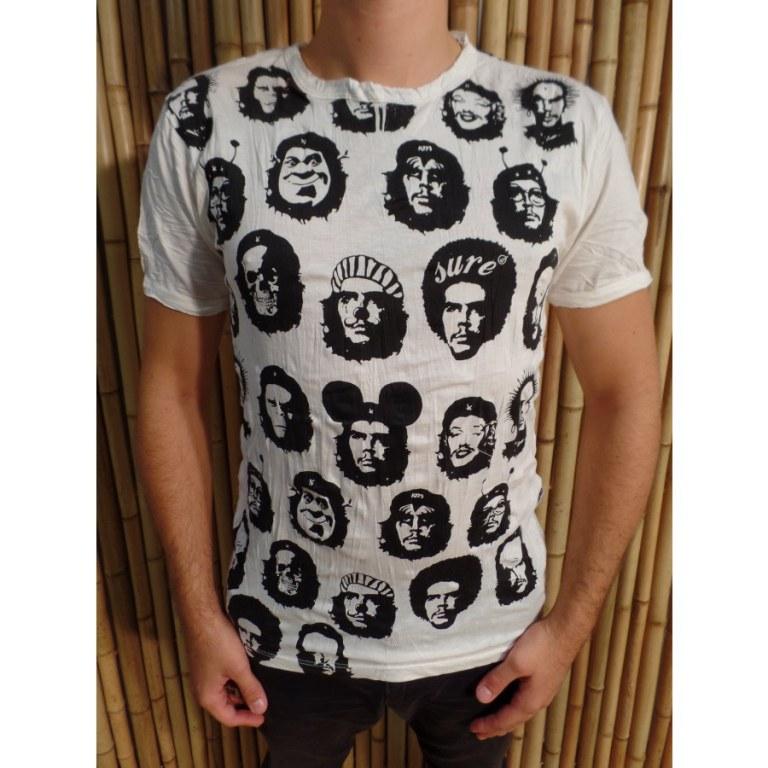 Tee shirt blanc Che Guevara