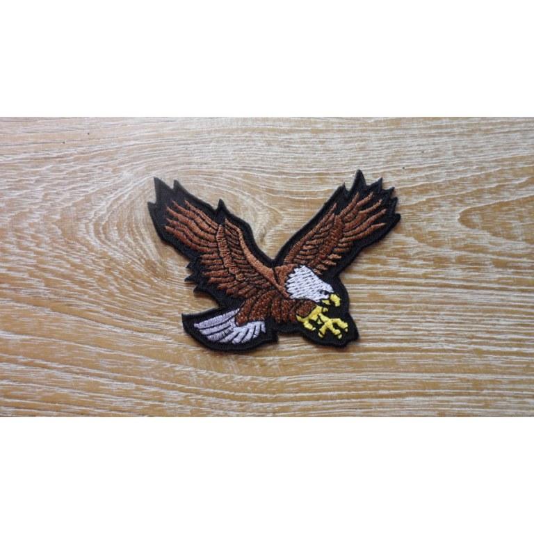 Ecusson aigle marron