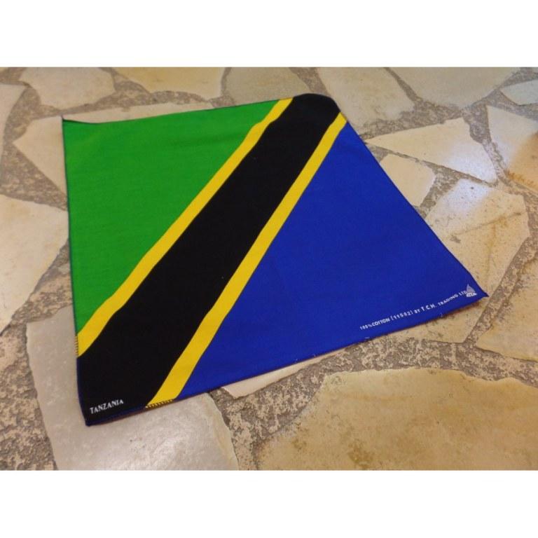 Bandana drapeau Tanzanie