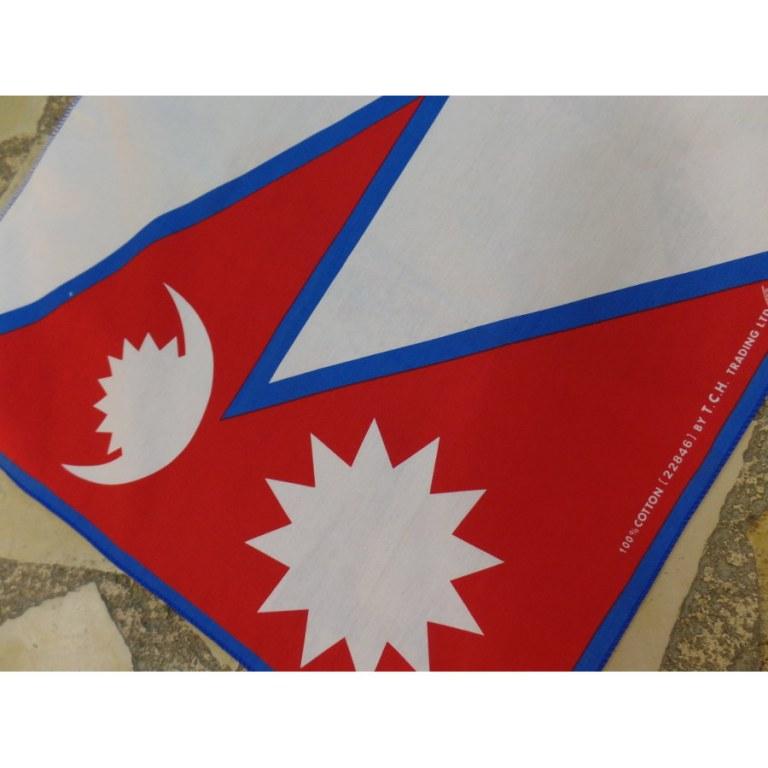 Bandana drapeau du Népal