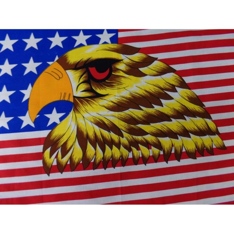 Bandana aigle drapeau USA