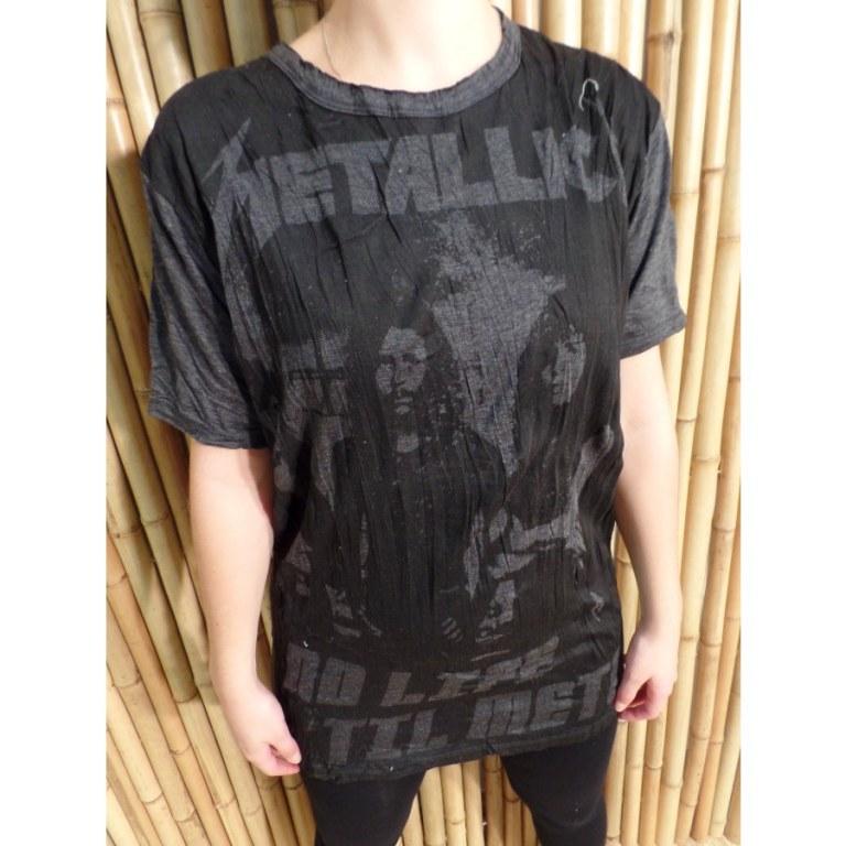 Tee shirt anthracite Métallica