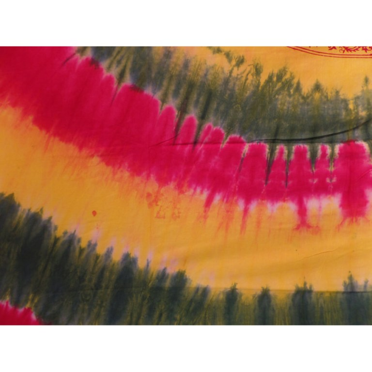 Maxi tenture tie and dye Aum