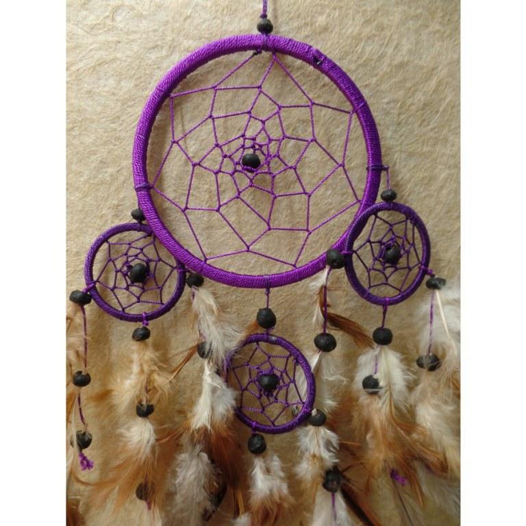 Attrape rêves violet naaw II