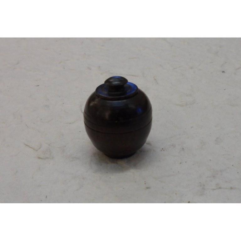 Mini-boîte en bois prune