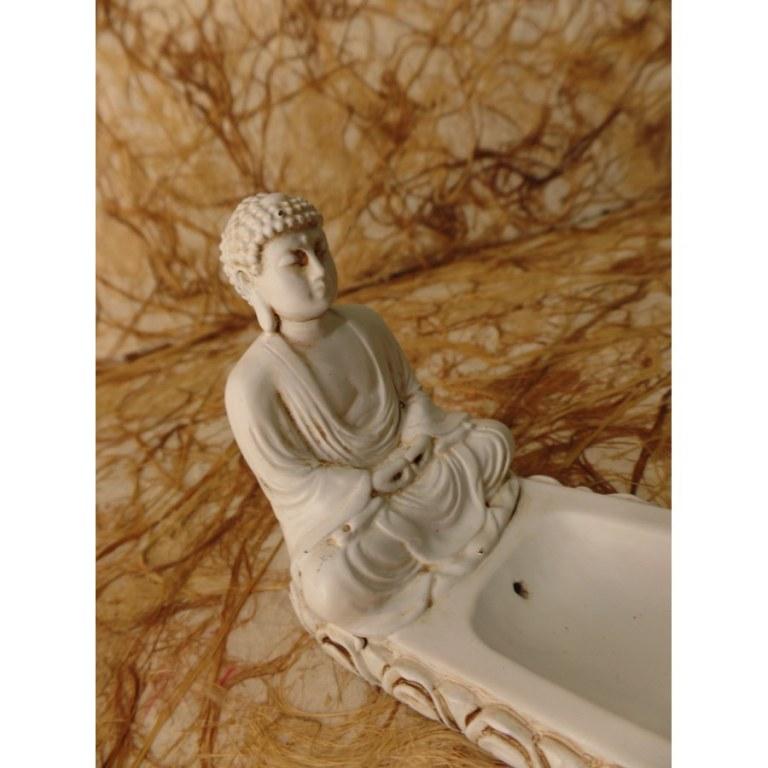 Porte encens Bouddha méditant