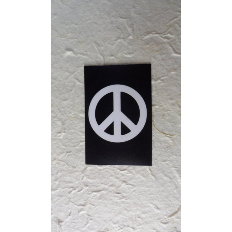 Aimant peace and love