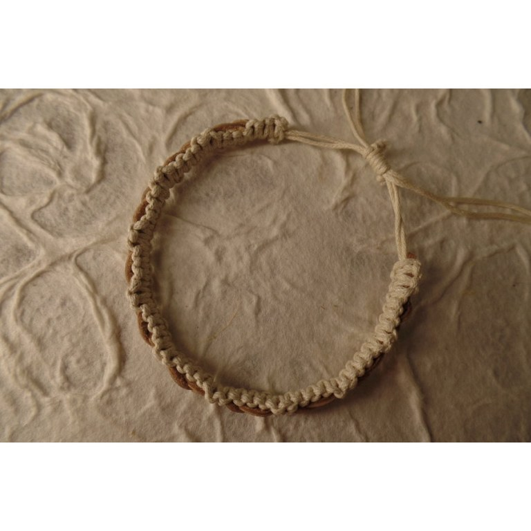 Bracelet cuir Kadek 5