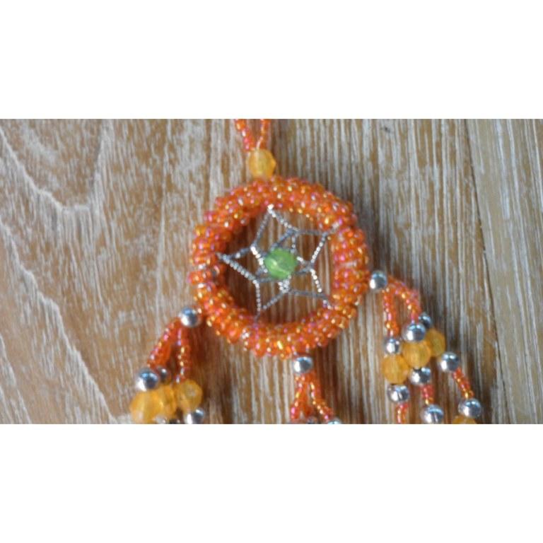 Dreamcatcher orange mini Aat