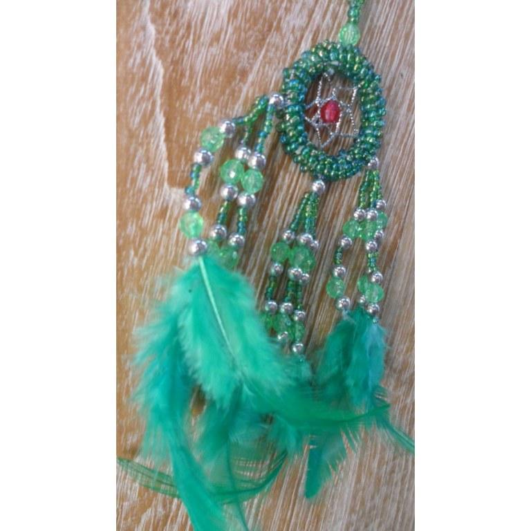 Dreamcatcher vert mini Aat